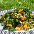 Kale and Black Eyed Pea Salad
