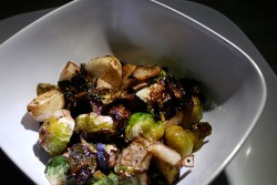 Campfire Roasted Balsamic Brussels Sprouts
