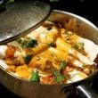 Skillet enchilada recipe with tomatillo chipotle sauce
