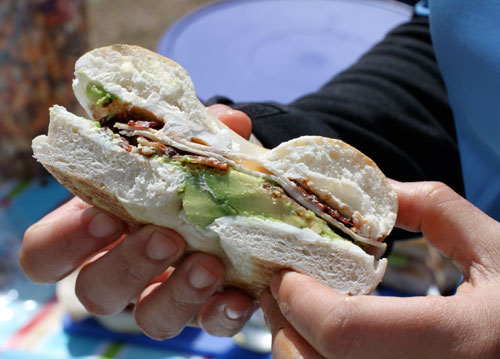 Chipotle Turkey Bacon Sandwich