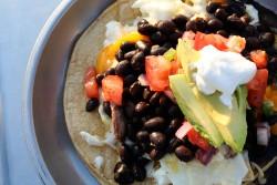Delicious camp-style Huevos Rancheros