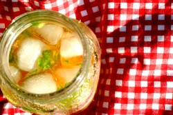 Ginger Peach Julep from above