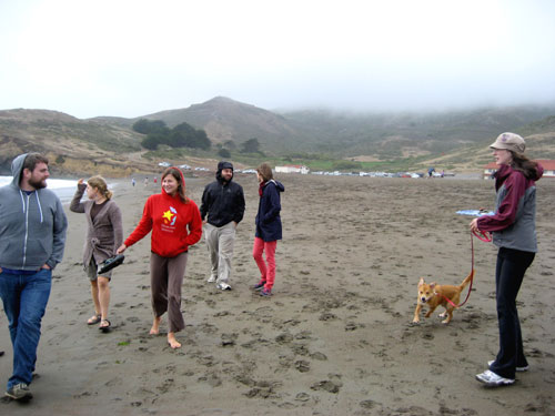 Friends at the Marin Headlands