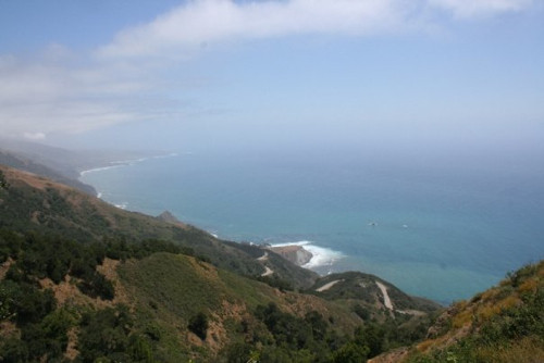 Pacific Coast Highway from Above