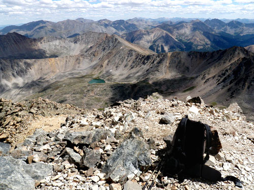 Top of La Plata Peak, CO