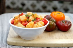Spiced Potato Tomato Salad
