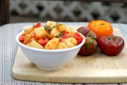 Spiced Potato Tomato Salad