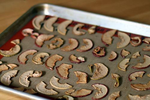 Baking Apple Chips