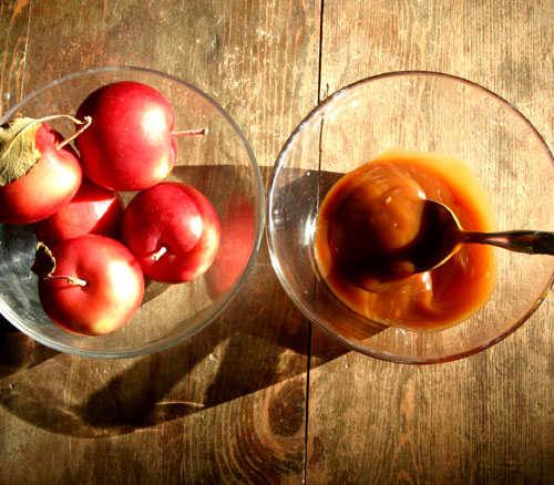 Caramel Apple Dip with Apples