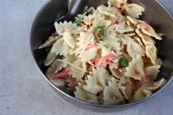 Marscapone Cheese & Smoked Salmon Pasta