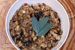Dried Plum Caramelized Shallot Stuffing