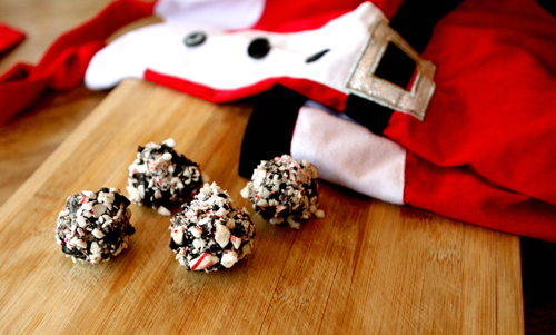 Peppermint dirtballs - a treat for any special occasion