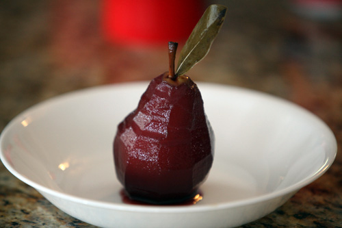 red-wine-poached-pears