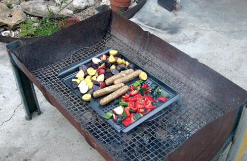 sausage-grill