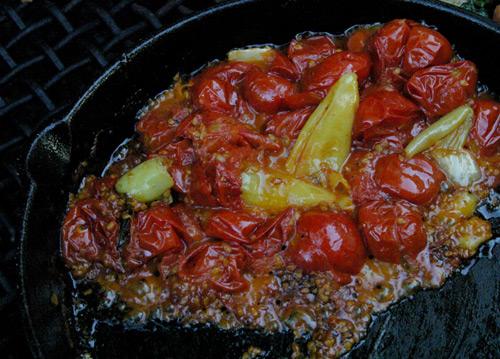 Campfire Tomato Relish