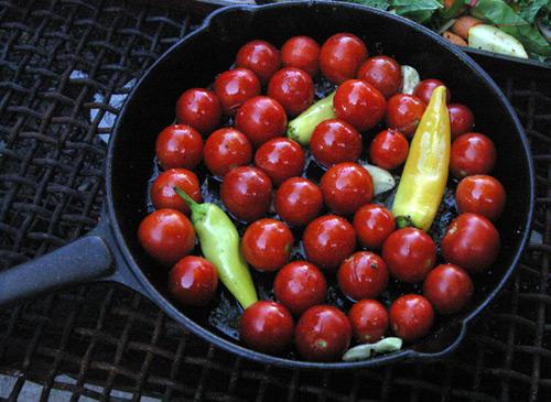 Campfire Tomato Relish Recipe