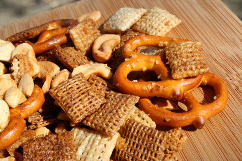 Spicy Maple Chex Mix