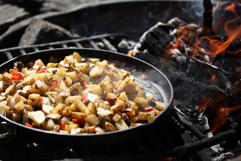 Campfire Breakfast Potatoes
