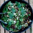 lentil-spinach-salad