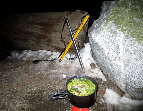 Beef Stew with Ice Axes
