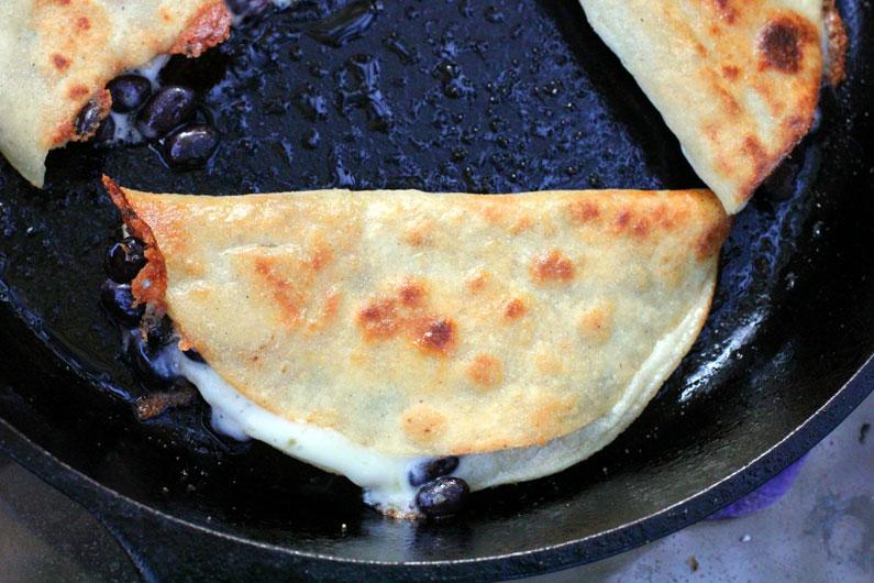 Crunchy Skillet Fried Tacos