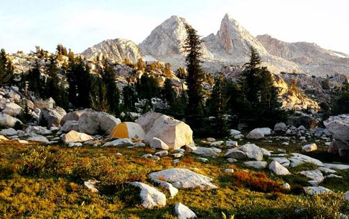 Finger Peaks Campsite