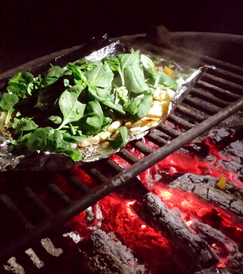 Campfire Spinach