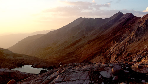 columbine-sunset