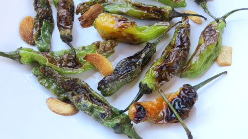 garlic-shisito-peppers
