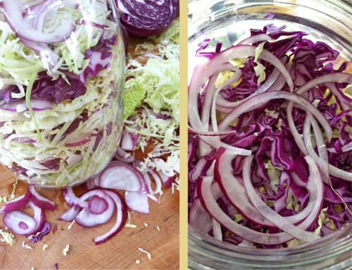 layered-cabbage-salad-prep