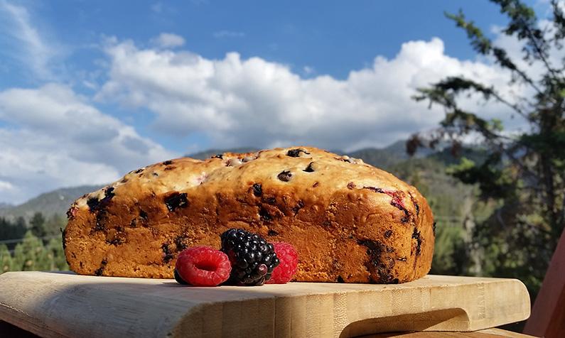 Mountain Berry Bread