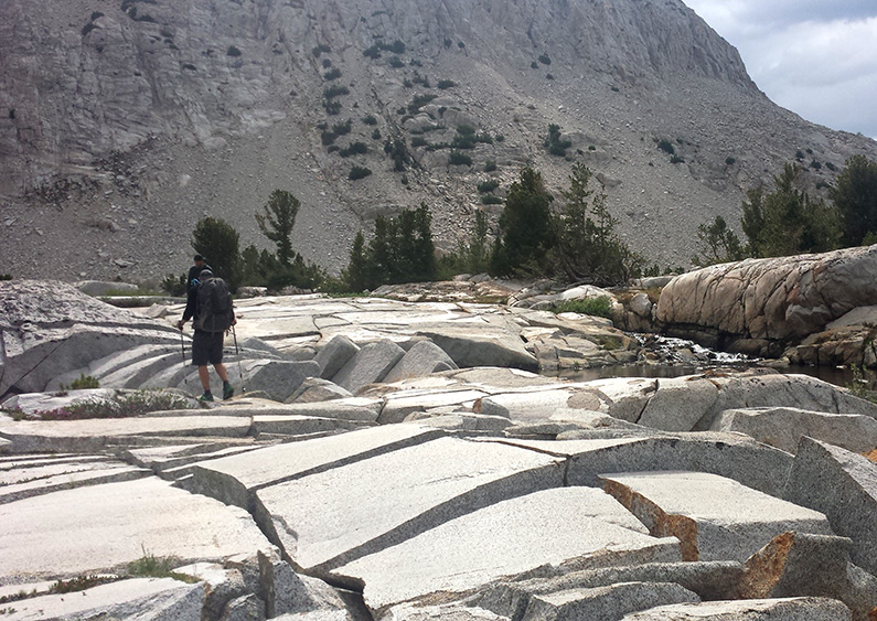 Arrow Peak Talus Field
