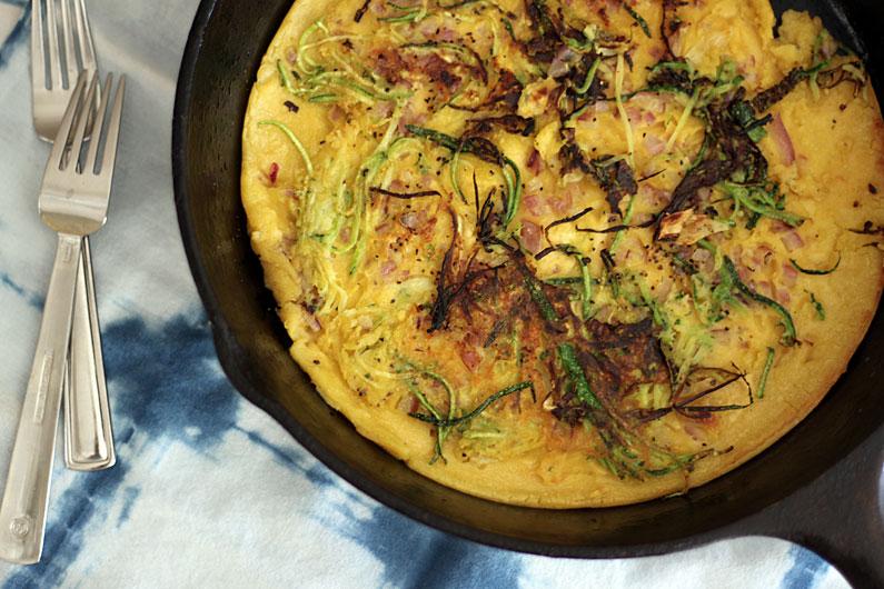 zucchini-chickpea-flour-flatbread