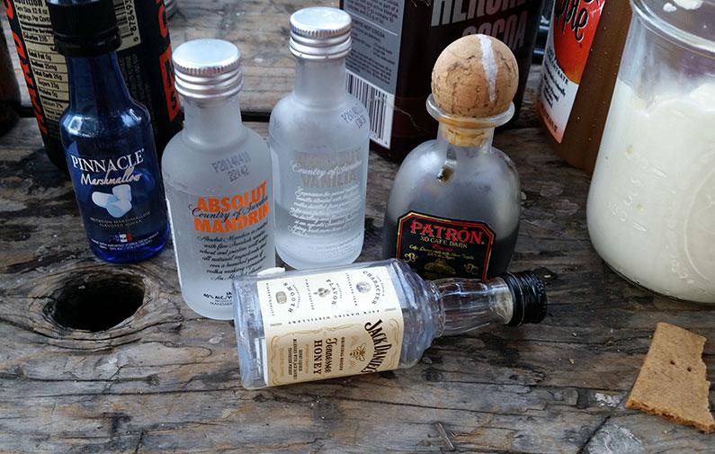 Testing Cider Cocktails