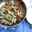 Campfire Dutch Oven Green Bean Fries