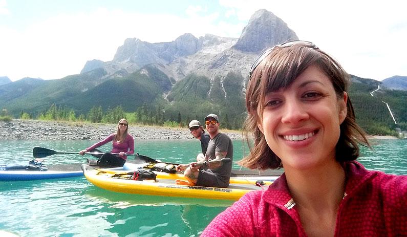 paddleboard-selfie