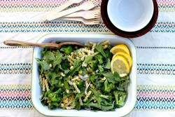 Arugula Corn Salad Pasta