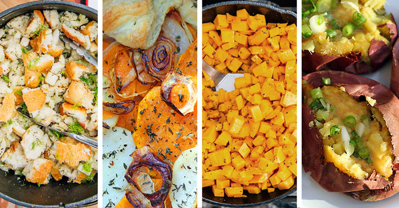 Thanksgiving side dishes in all flavors.