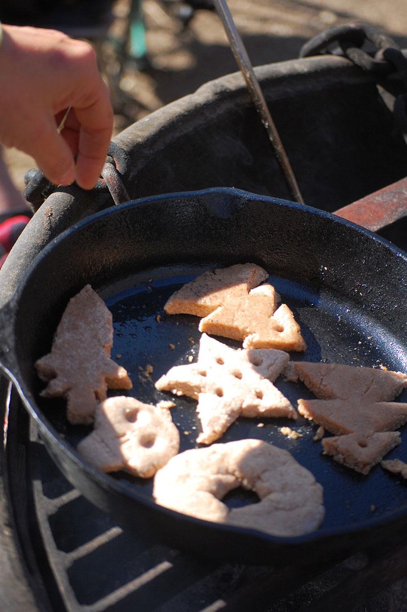 Campfire Salt Dough Ornaments
