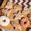 Campfire Salt Dough Ornaments