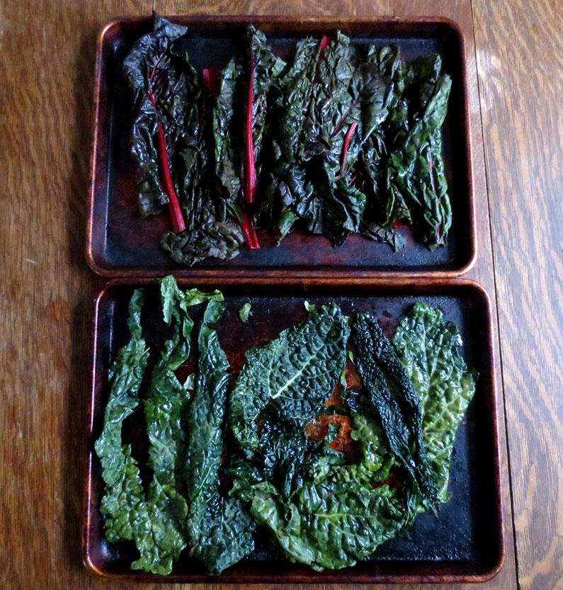Fresh Kale and Chard