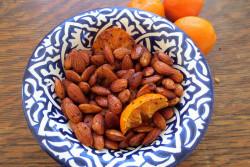 Orange Sesame Almonds