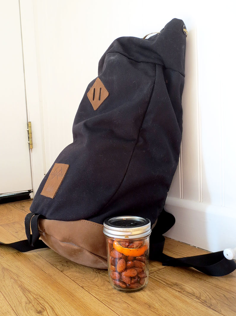 To Go Orange Sesame Almonds