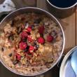 Backpacking Raspberry Almond Cacao Oatmeal