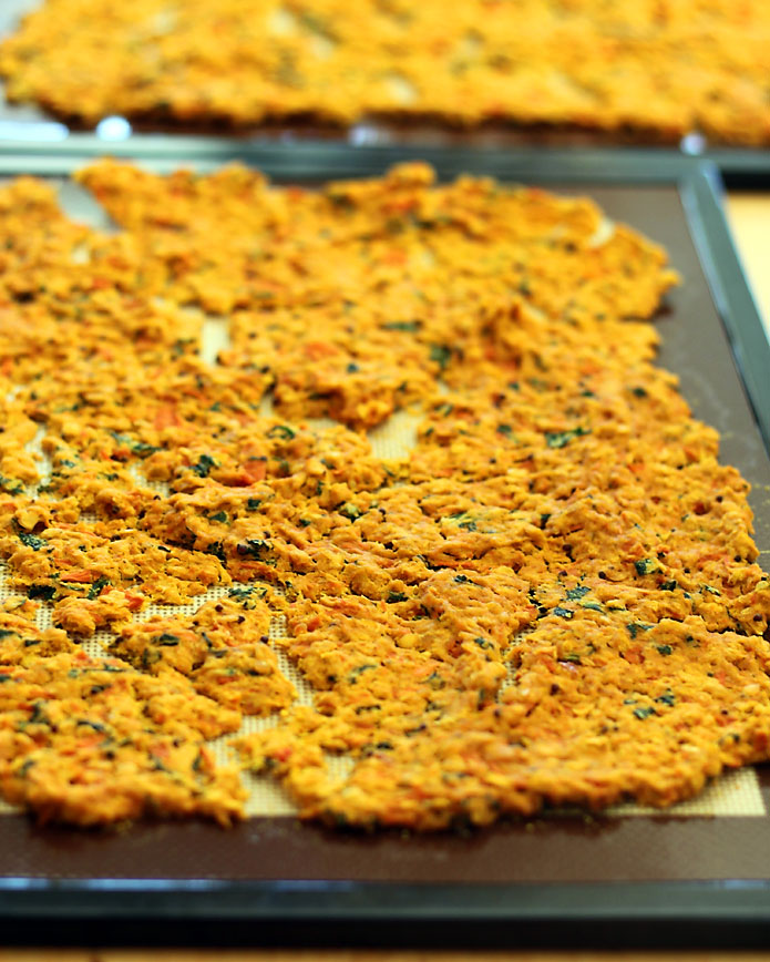 Dehydrated Red Lentil Sweet Potato Dal Before