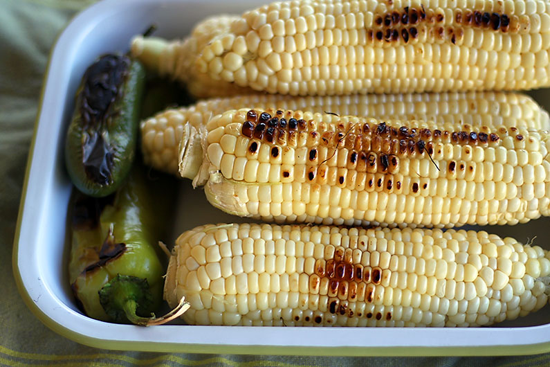 Campfire Grilled Corn