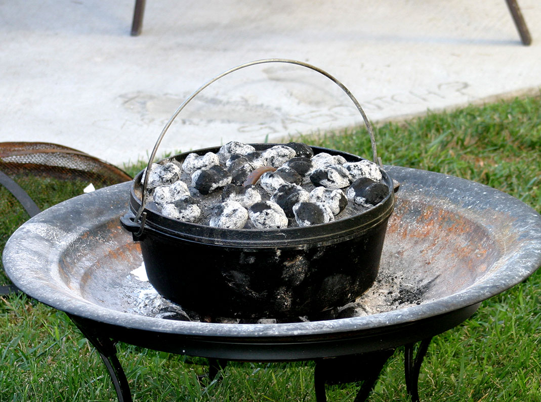 Backyard Dutch Oven