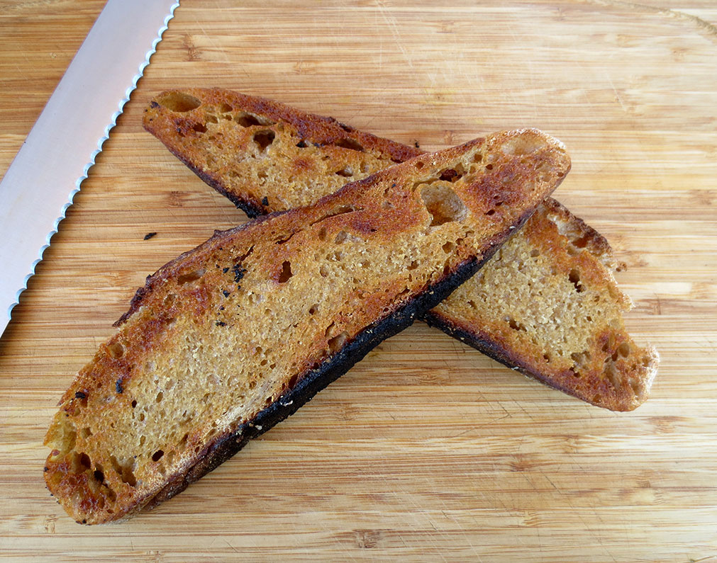 Dutch Oven Sourdough Slices
