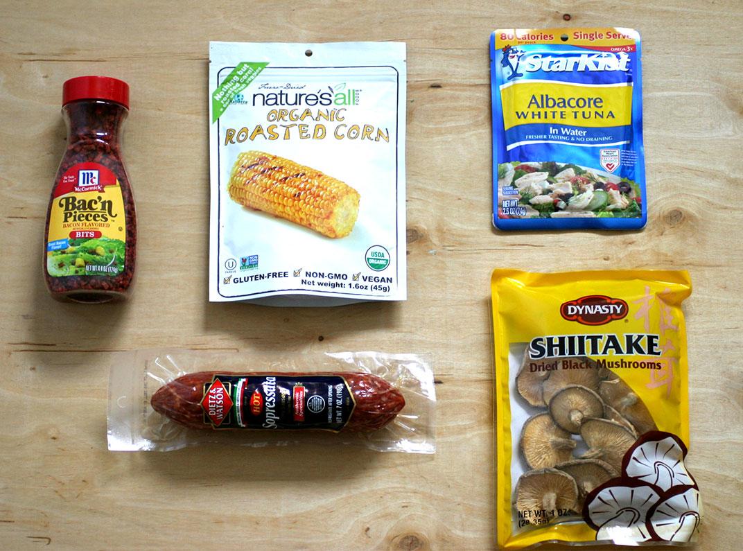 Grocery Backpacking Food Bulk
