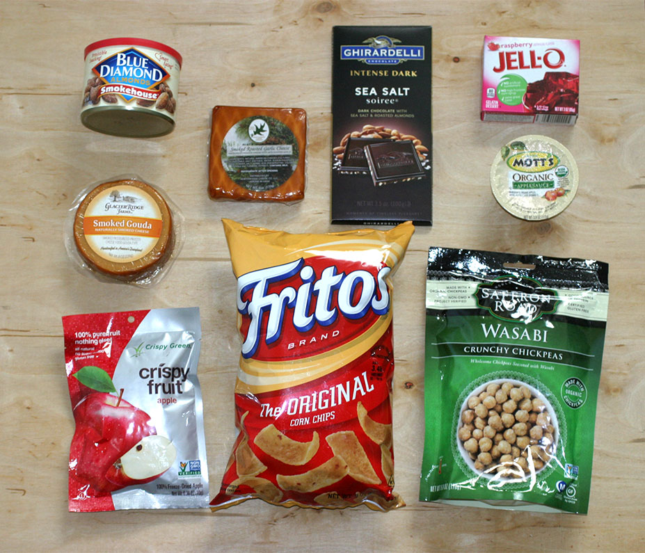 Grocery Backpacking Snacks Toppings